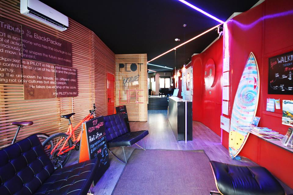 Pilot Design hostel and bar (from their own website)