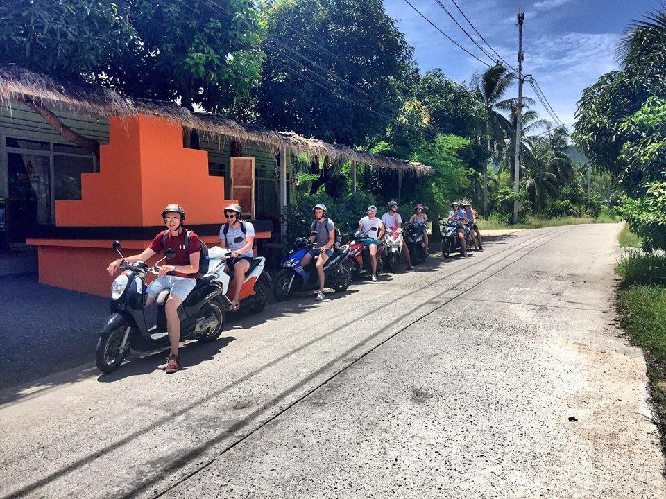 Explore Koh Phangan by motorbike