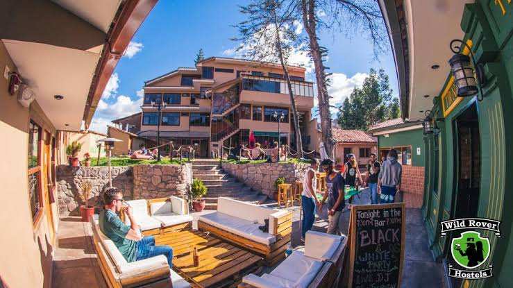 wild rover hostel (from booking.com)